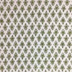 Mahal on Chelsea Linen - Colour 336 & 336 Qtr - Kale