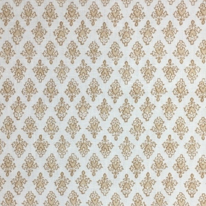 Mahal on Chelsea Linen - Hazelnut 338