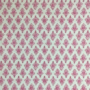 Mahal on Chelsea Linen - Pink Yarrow 75 & 75 Qtr