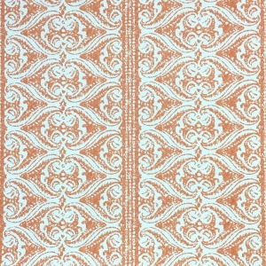 Rustic Alison Border Wallpaper - Flame