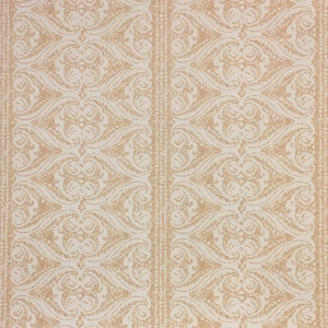 Rustic Alison Border Wallpaper - Hazelnut