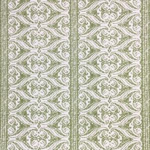 Rustic Alison Border Wallpaper - Kale