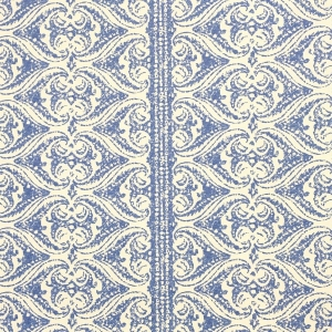 Rustic Alison Border Wallpaper - Lapis Blue
