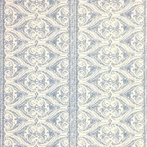 Rustic Alison Border Wallpaper - Niagara Blue