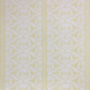 Rustic Alison Border Wallpaper - Primrose Yellow