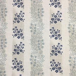 Aylesbury Stripe - Pale Blue & Beige