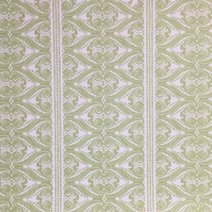 Alison Border on Non Woven Wide Width Wallpaper - Greenery