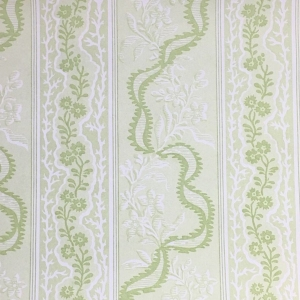 Cambridge Border on Non Woven Wide Width Wallpaper - Greenery (2)
