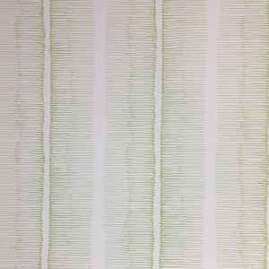 Cornwall Stripe on Non Woven Wide Width Wallpaper - Greenery
