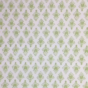 Mahal on Non Woven Wide Width Wallpaper - Greenery