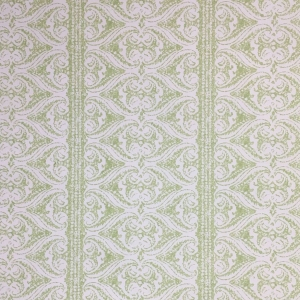 Rustic Alison Border on Non Woven Wide Width Wallpaper - Greenery