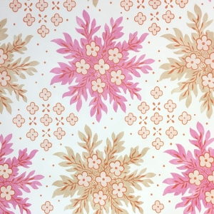 Woodley - Non Woven Wide Width Wallpaper - Pink Yarrow