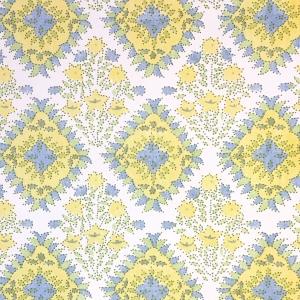 Yamuna - Non Woven Wide Width Wallpaper - Primrose Yellow