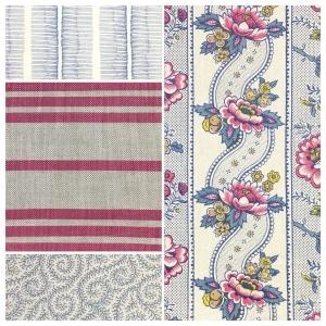 Ann Maria - Pink Yarrow & Niagara Blue