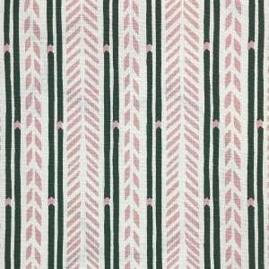 Arrow Stripe - Pink & Kale Green