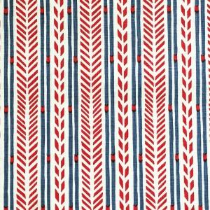 Arrow Stripe - Red & Blue