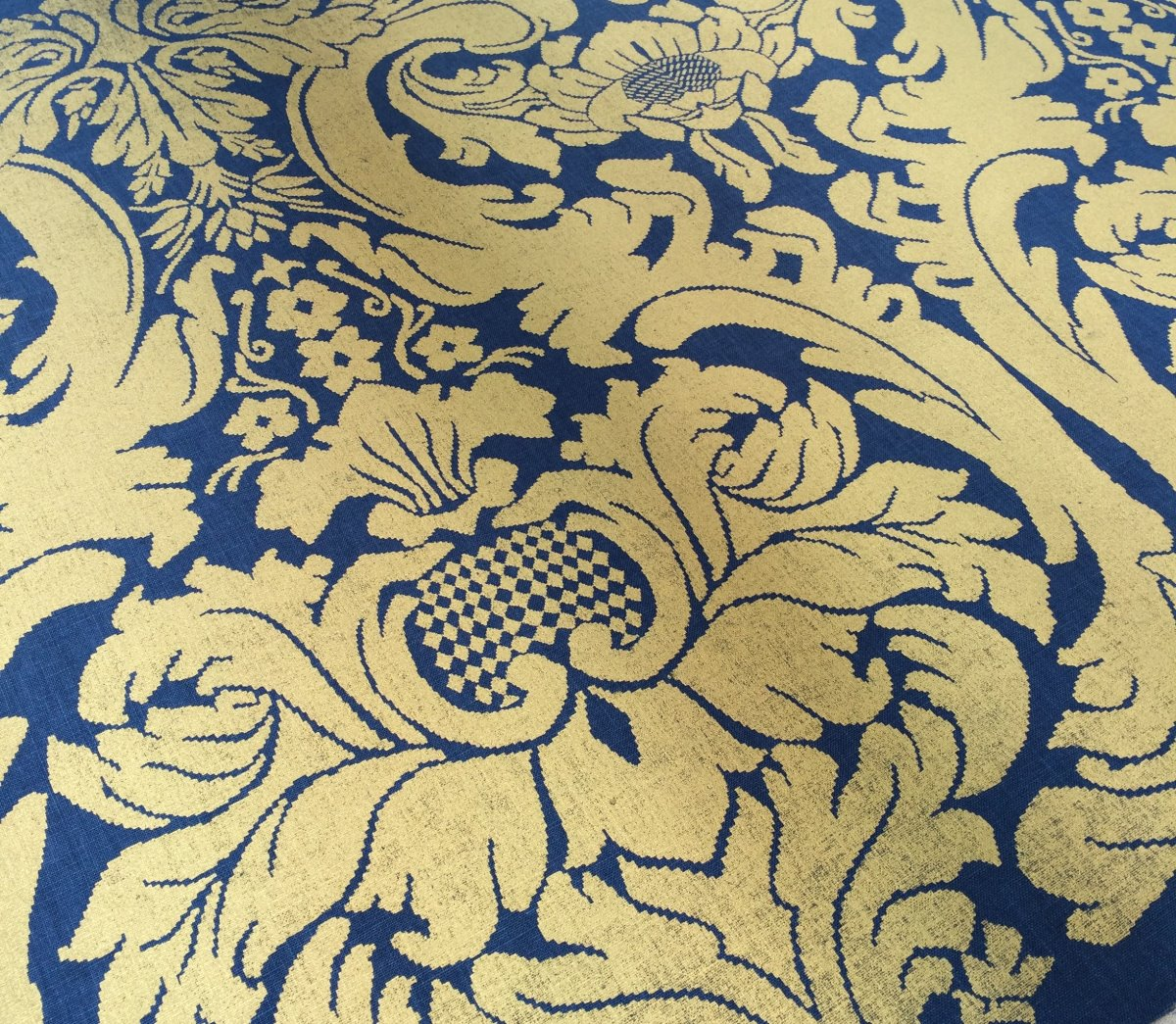 Custom Printed French Damask