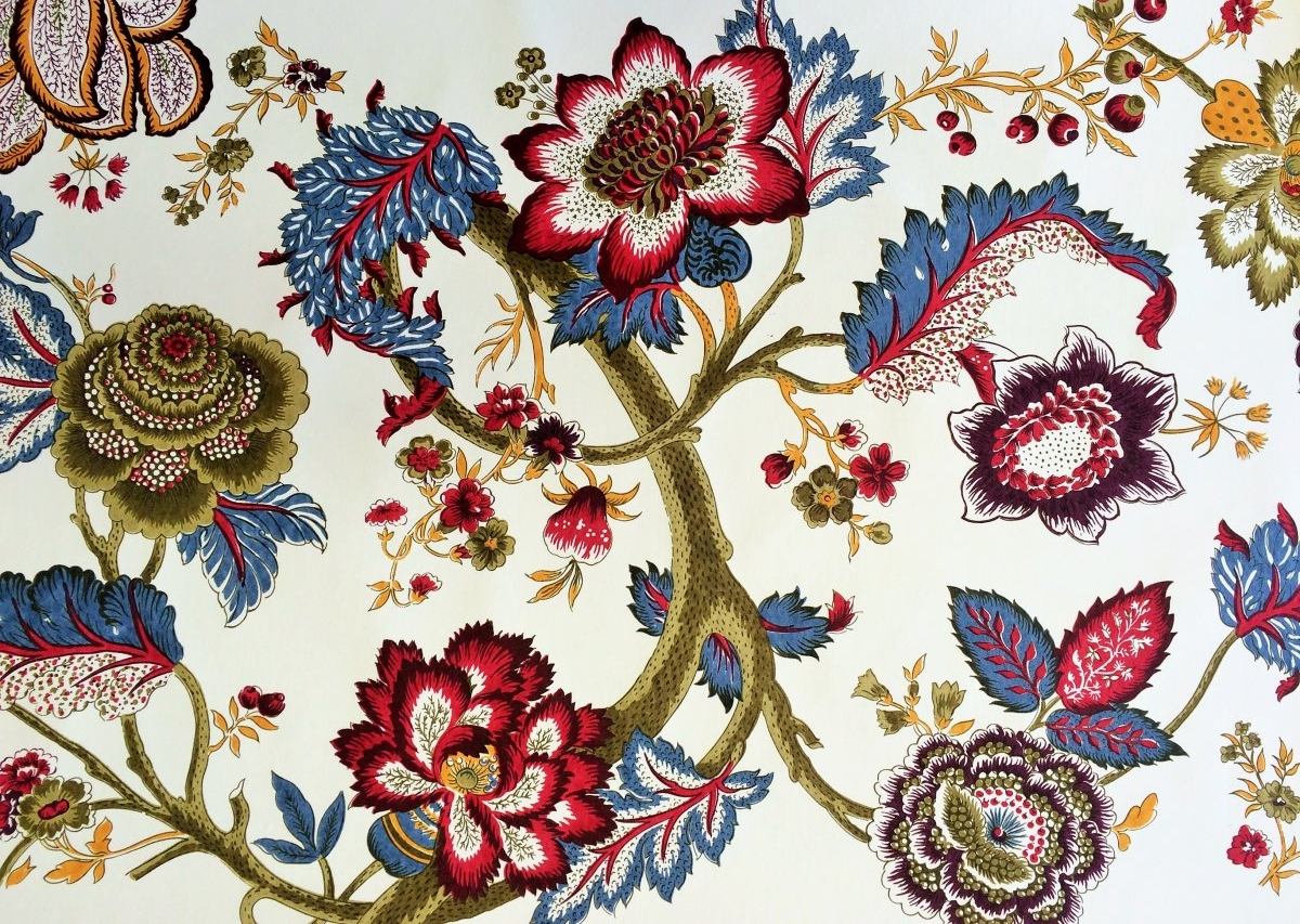 NON WOVEN WIDE WIDTH WALLPAPER - PRINTED