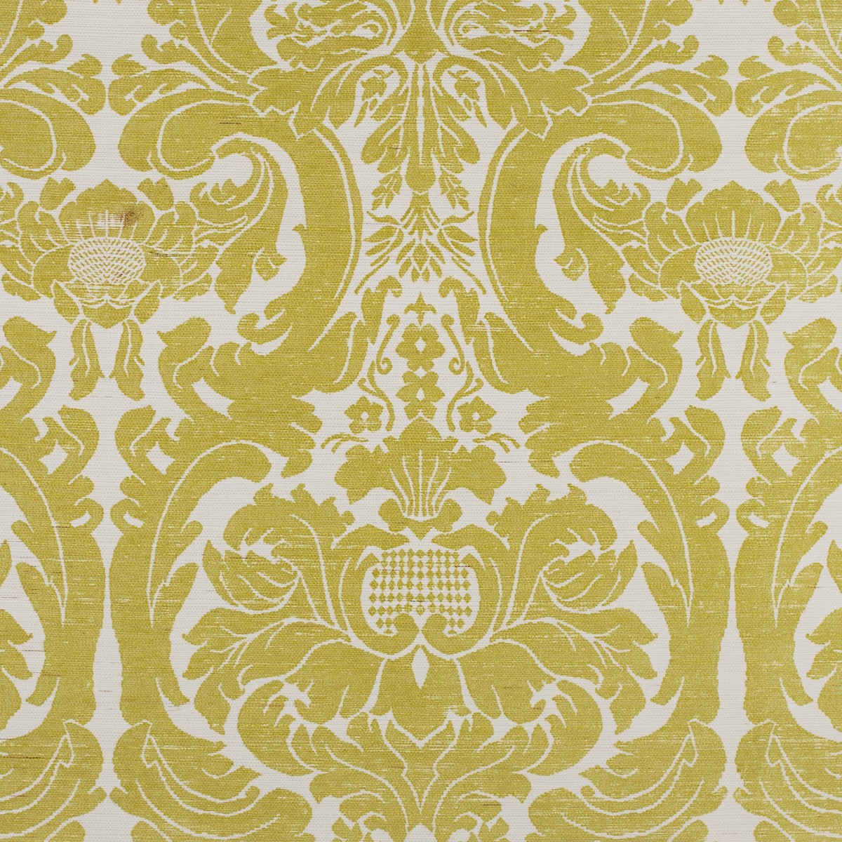 Grasscloth Wallpaper Printed Bernard Thorp Fabric And