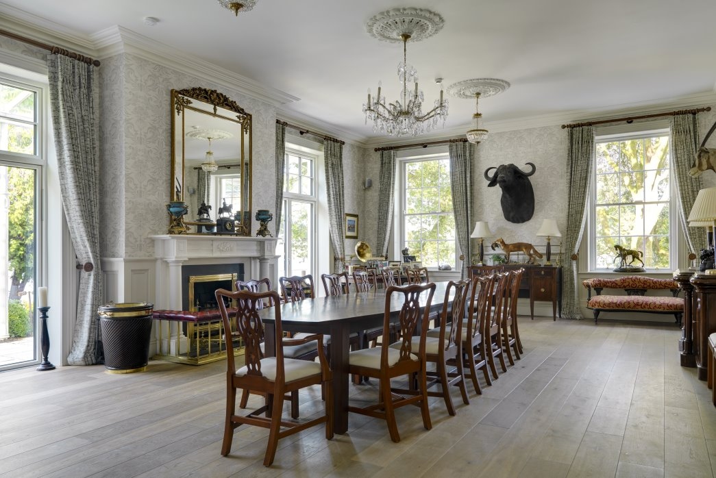 Dining room design by irish architectural and interior