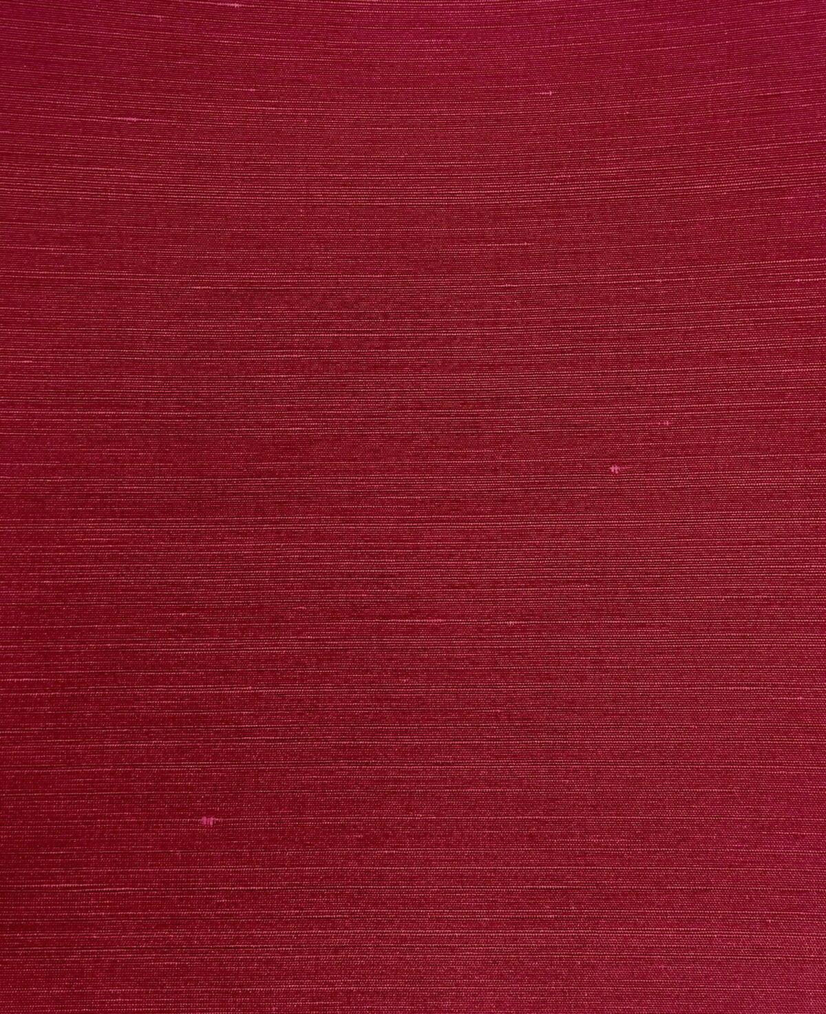 Savoy Silk Wallpaper 032 PLAIN FABRICS RED