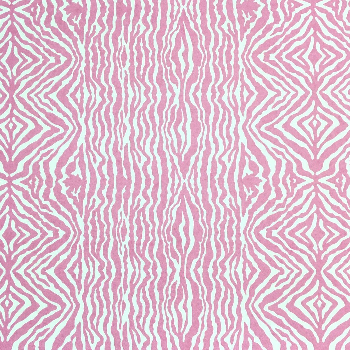 Grevys zebra stripe wallpaper pink yarrow