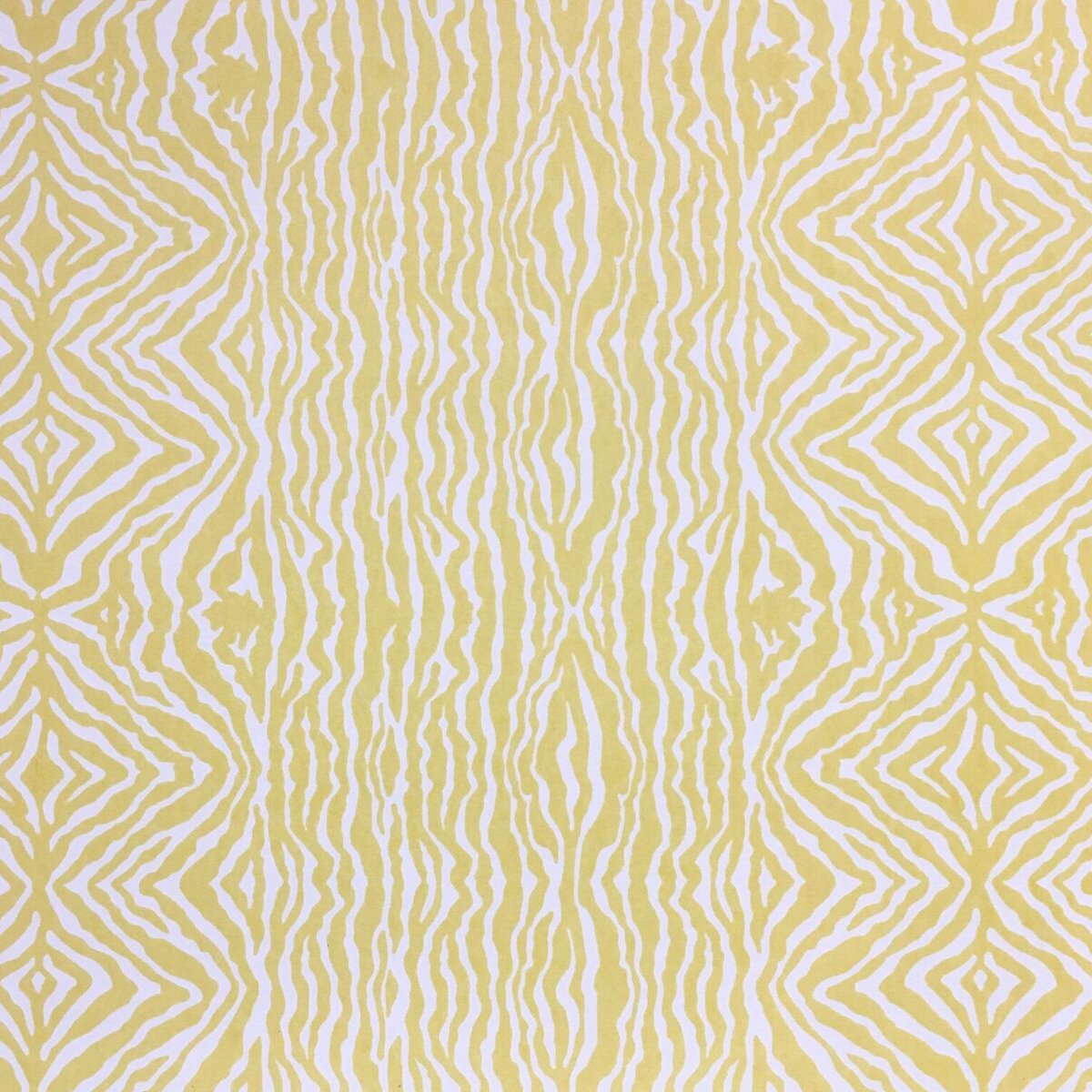 Grevys zebra stripe wallpaper primrose yellow